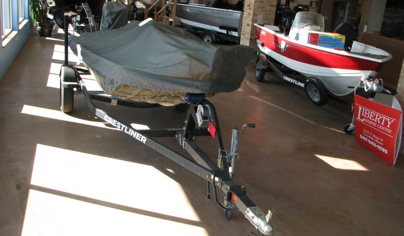 JUST IN-2015-1546 Crestliner Retriever Tiller W/ MERCURY 25elhpt full