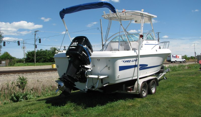 JUST REDUCED-22′ ProLine with 200  Mercury OptiMax full